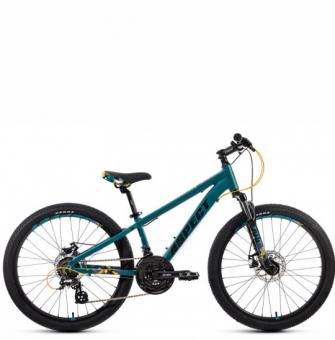Подростковый велосипед Aspect Winner 24 (2021) зеленый