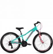 Подростковый велосипед Aspect Angel 24 (2021) мятный