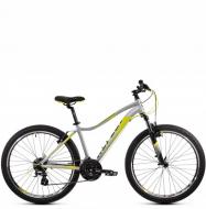 Велосипед Aspect Oasis 26 (2021) серо-желтый