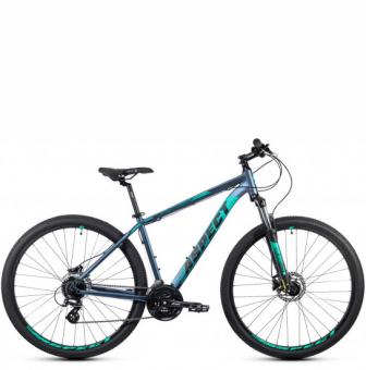 Велосипед Aspect Nickel 29 (2021) сине-зелёный