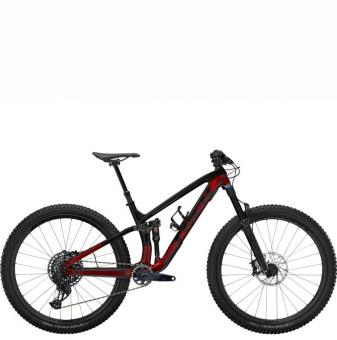 Велосипед Trek Fuel EX 9.8 GX AXS (2022) Raw Carbon/Rage Red