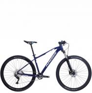 Велосипед Kross Level 4.0 (2021) Navy blue/White gloss