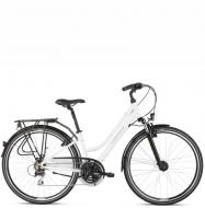 Велосипед Kross Trans 3.0 (2022) White/Gray gloss