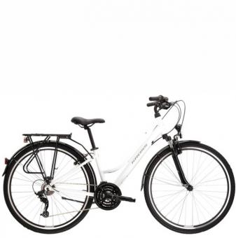 Велосипед Kross Trans 1.0 (2021) White/Gray gloss