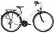Велосипед Kross Trans 1.0 (2021) White/Gray gloss 1