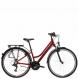 Велосипед Kross Trans 1.0 (2021) Ruby red/Black gloss 1