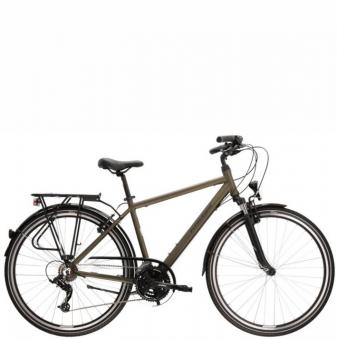 Велосипед Kross Trans 2.0 (2021) Khaki/Black mat