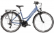 Велосипед Kross Trans 2.0 D (2021) Blue/White glossy 1
