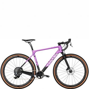 Велосипед Canyon Grizl CF SLX 8 eTap Suspension Grape Explosion