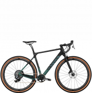 Велосипед Canyon Grizl CF SLX 8 eTap Suspension Carbon Raw Splatter