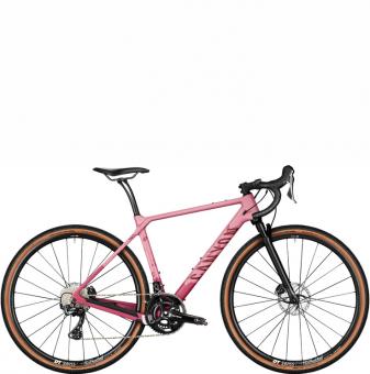 Велосипед гравел Canyon Grizl CF SL 8 Suspension WMN Wildberry Splatter