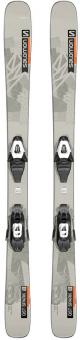 Горные лыжи Salomon L QST Spark + крепления L6 GW Gray JR (2022)