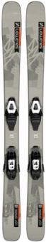 Горные лыжи Salomon L QST Spark + крепления C5 GW Gray/Orange JR (2022)
