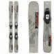 Горные лыжи Salomon L QST Spark + крепления C5 GW Gray/Orange JR (2022) 1