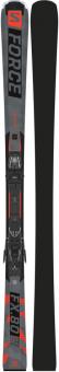 Горные лыжи Salomon S/Force Fx 80 + крепления M11 GW L80 Black (2022)