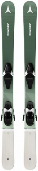 Горные лыжи Atomic Backland Girl 110-130 C 5 GW Grey/Mint + C 5 GW Grey/Mint (2022)