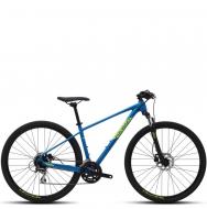 Велосипед Polygon Heist X2 (2021) Blue Green