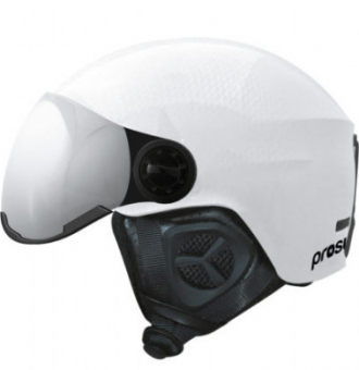 Шлем Prosurf Shiny Carbon Visor white (2 линзы S1 и S3) (2021)