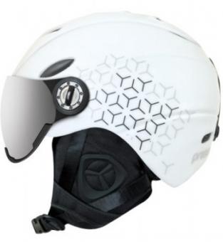 Шлем ProSurf Graphic Visor white (1 линза S3) (2021)