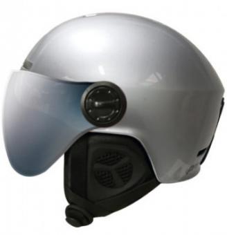Шлем ProSurf Unicolor Metal Visor silver (1 линза) (2021)