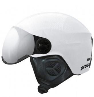Шлем Prosurf Shiny Carbon visor white (1 линза S3) (2021)