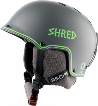 Шлем Shred Half Brain D-Lux bigshow grey-green (2018)