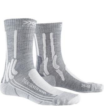 Носки X-Socks Trek Silver WMN Dolomite Grey Melange/Pearl Grey (2021)