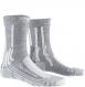 Носки X-Socks Trek Silver WMN Dolomite Grey Melange/Pearl Grey (2021) 1