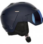 Шлем с визором Salomon Icon Lt Visor Wisteria (2022)