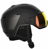 Шлем с визором Salomon LT Visor Photo Black/Beluga SR (2022)