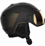 Шлем с визором Salomon Pioneer LT Visor Sigma Black/Grey SR (2022)