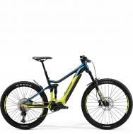 Электровелосипед Merida eOne-Sixty 500 (2021) TealBlue/Lime