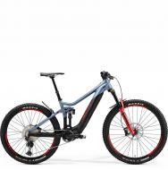 Электровелосипед Merida eOne-Sixty 700 (2021) MattSteelBlue/Black/Red