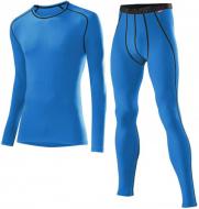 Комплект мужского термобелья Loffler Warm синий (2021)