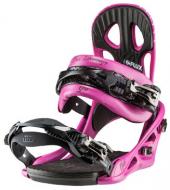 Крепление для сноуборда Flux GU Pink 14-15