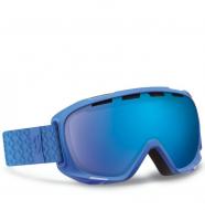 Маска Scott Fix blue solid/blue chrome