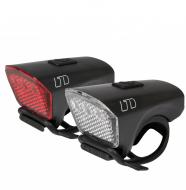 Комплект фонарей Cube Lichtset LTD black´n´black