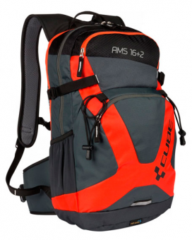 Рюкзак Cube Backpack AMS 16+2 black´n´flashred