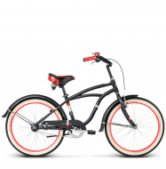 Подростковый велосипед Le Grand Bowman JR Black