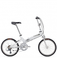 Велосипед складной Giant Halfway white (2016)