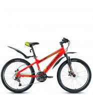 Подростковый велосипед Forward Titan 3.0 disc (2016) red