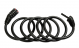 Замок велосипедный Cube RFR Spiral Combination Lock 12x1800mm 1
