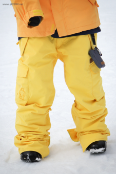 180˚ Switch Pant - Yellow