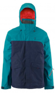 Куртка Scott Walsh 80 2015 Mens Ski Jacket In Black Iris/Maui Blue