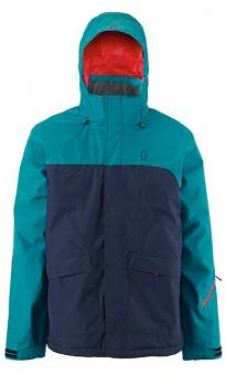 Куртка Scott Walsh 80 2015 Mens Ski Jacket In Black Iris/Maui Blue