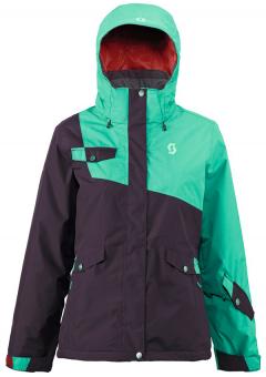 Куртка Scott Women's Hollis 80 purple/green