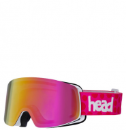 Маска Head Infinity FMR+SpareLens pink/red/orange (2017)