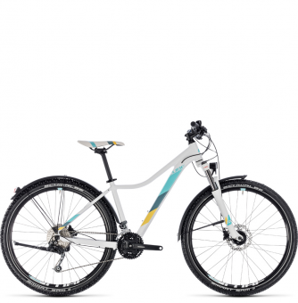 "Велосипед Cube Access WS Pro Allroad 27,5"" (2018)  white´n´blue"