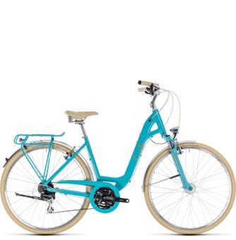 Велосипед Cube Elly Ride (2018) aqua´n´orange