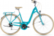 Велосипед Cube Elly Ride (2018) aqua´n´orange 1